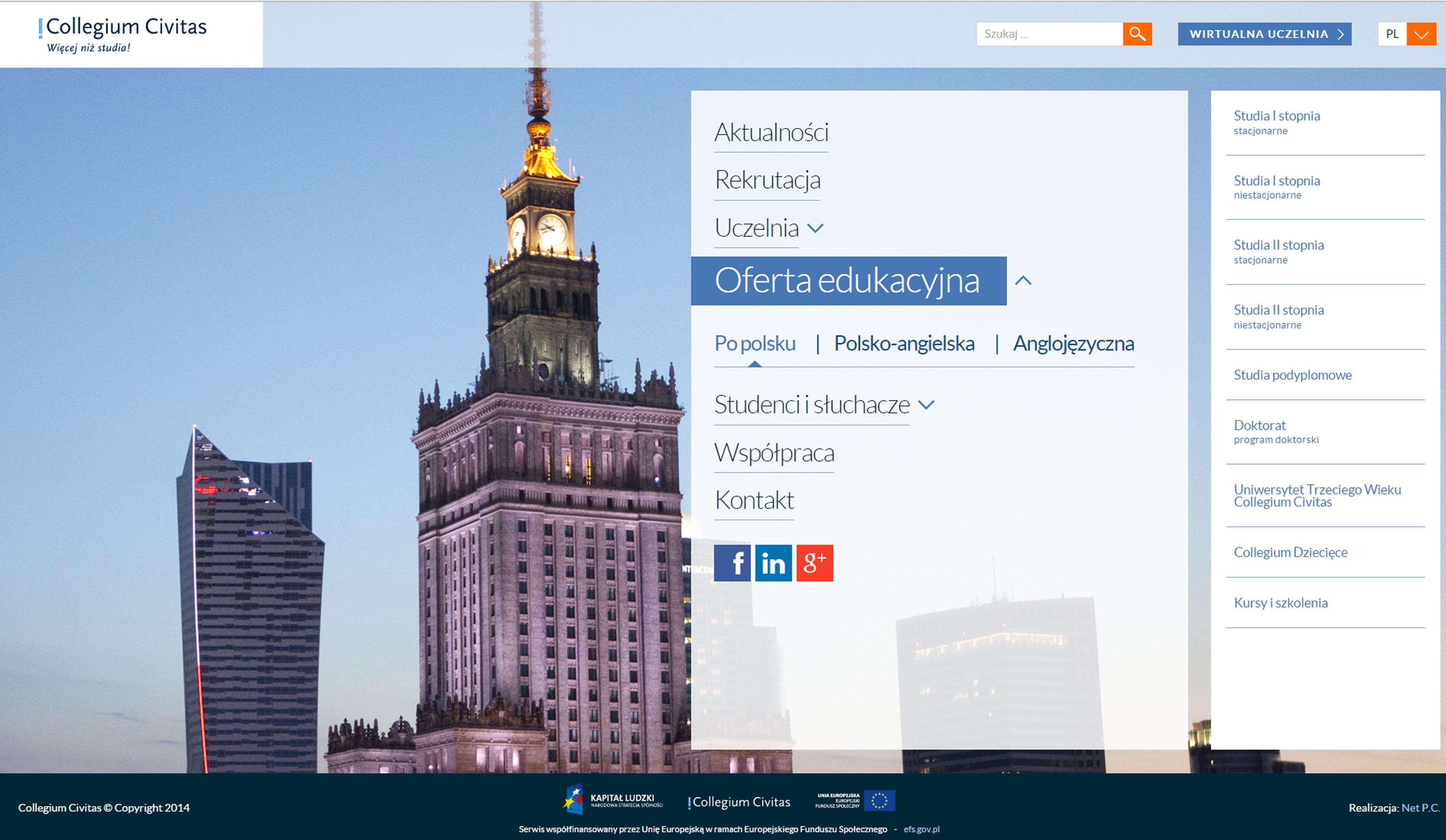 REKRUTACJA TRWA - zacznij studia od marca!