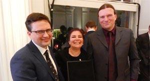 Europejski Medal Tolerancji dla wykładowcy Collegium Civitas Rafała Pankowskiego
