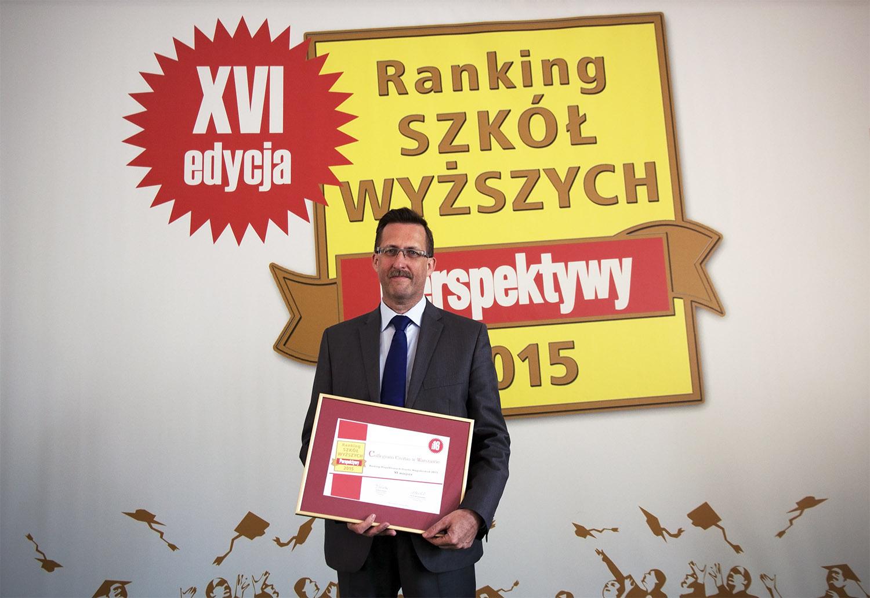 Collegium Civitas i w tym roku na czele rankingu Perspektyw!