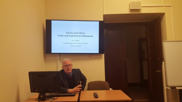 Prof. Ari Kokko gościł w Collegium Civitas