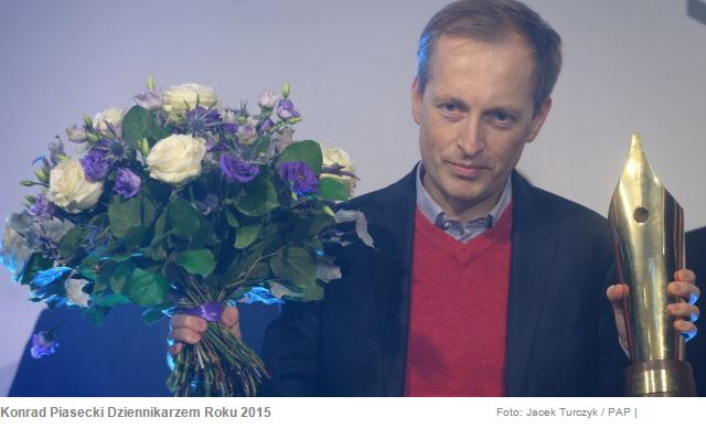 Wykładowca Collegium Civitas został Dziennikarzem Roku 2015