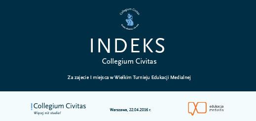 Indeks Collegium Civitas wygrała Julia Sochacka z Torunia