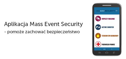 Aplikacja Mass Event Security – pomoże zachować bezpieczeństwo