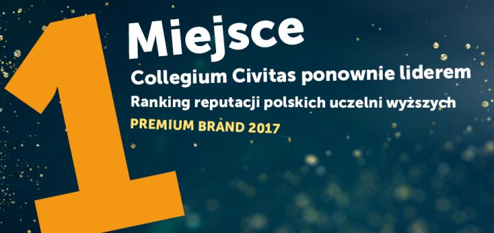 Collegium Civitas ponownie liderem