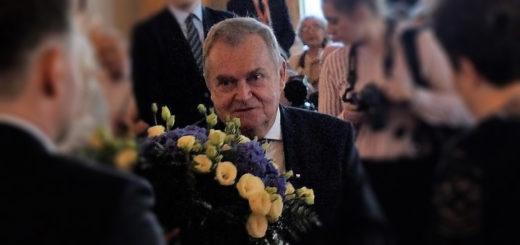 Sędzia Wiesław Johann Honorowym Obywatelem Miasta Stołecznego Warszawy