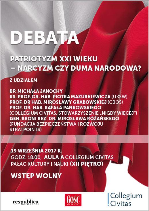 Program debaty o patriotyzmie