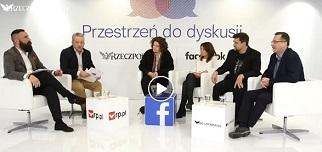 """""""Czy starsi młodszym budują dom?"""" – rektor Collegium Civitas gościem debaty Rzeczpospolitej i Facebooka"""
