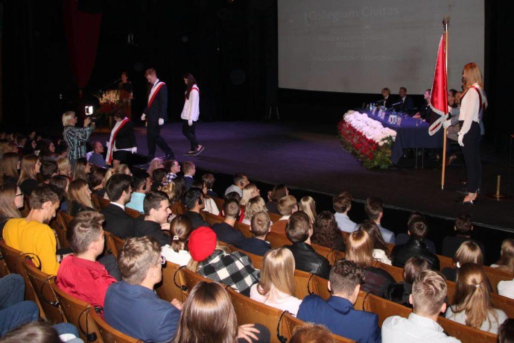 Prof. S. Mocek - inauguracja r.ak. 2018/2019