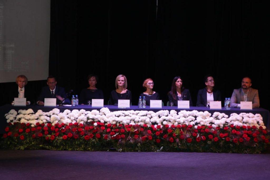 kolegium rektorskie na inauguracji r.ak. 2018/2019