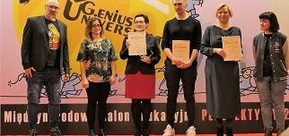 Pierwsze miejsce w konkursie Genius Universitatis 2019
