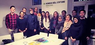 Współpraca z fundacją Heinrich-Böll-Stiftung