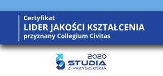 Collegium Civitas liderem jakości kształcenia