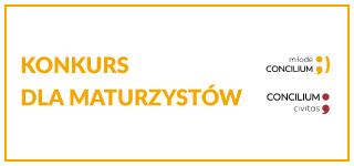 II konkurs dla maturzystów w ramach Młodego Concilium Civitas