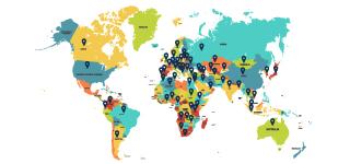 Where are Collegium Civitas students from?