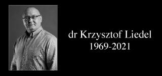 Farewell to Dr Krzysztof Liedel