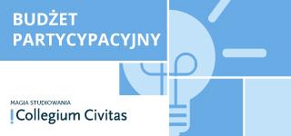 Rusza druga edycja Budżetu Partycypacyjnego Collegium Civitas na rok akademicki 2020/2021!