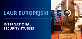 """""""Laur Europejski"""" dla International Security Studies w Collegium Civitas!"""